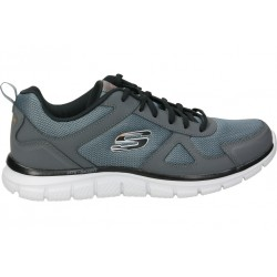 Skechers grey 52631-ccbk man