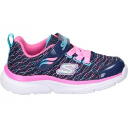 Skechers blue 81378n-nvpk girl