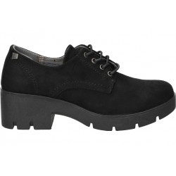 Young fashion casual shoes mtng 58428 black color
