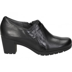 Casual shoes for lady skinny 3111 black color
