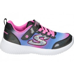 Skechers black 300019l-bkmt girl